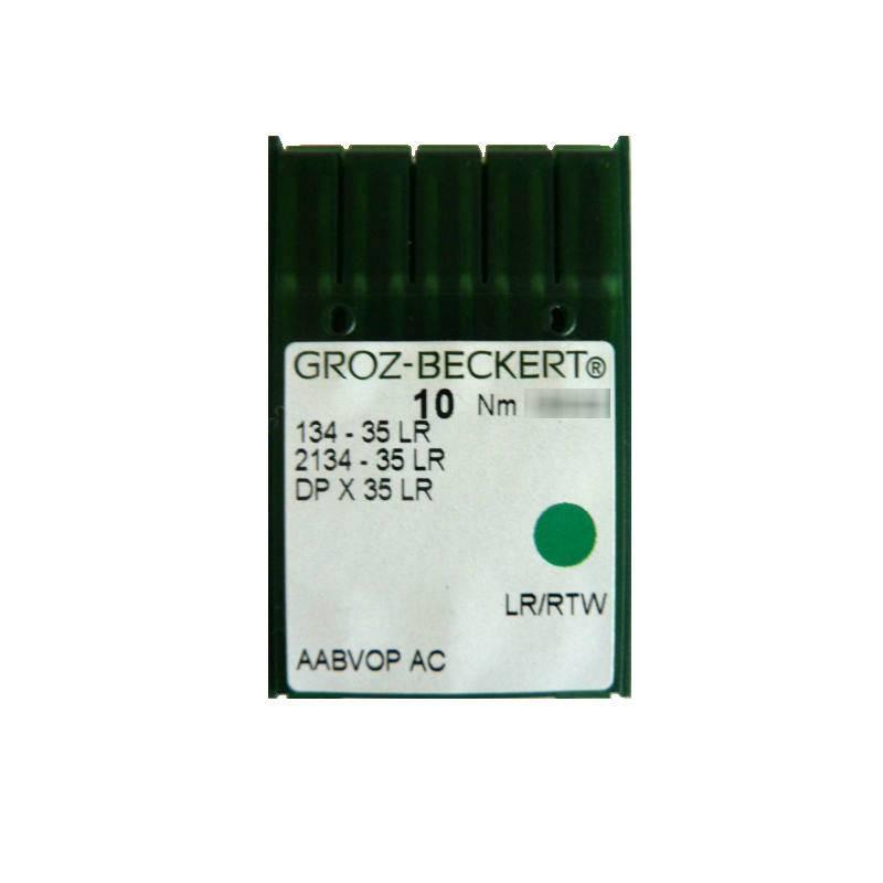 Aiguilles industrielles Groz-Beckert 135-35 LR tous diamètres (X10 aiguilles)