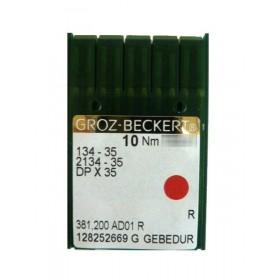 Aiguilles industrielles Groz-Beckert 134-35 R GEBEDUR tous diamètres (X10 aiguilles)