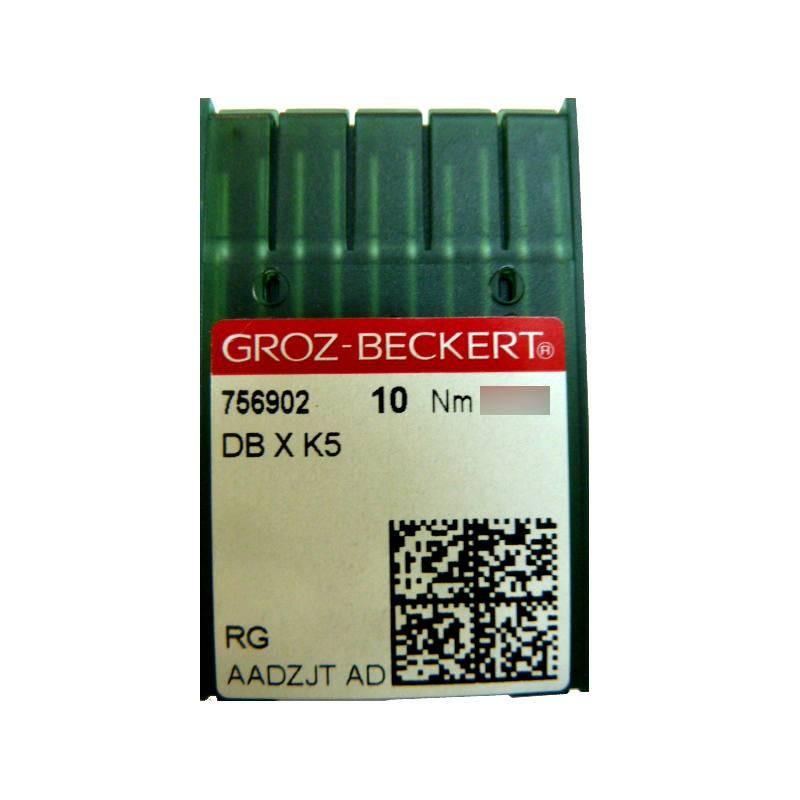 Aiguilles industrielles Groz-Beckert DBXK5 tous diamètres (X10 aiguilles)