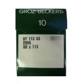 Aiguilles industrielles Groz-Beckert UY 113 GS RG tous diamètres  ( X10 aiguilles)