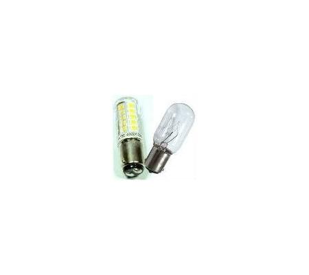 Ampoule pour machine à coudre 12V 20W ou 15W vis ou baionnette